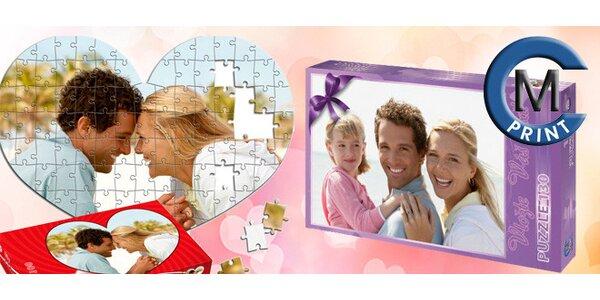 Puzzle s vaší vybranou fotkou (100 až 912 dílků)