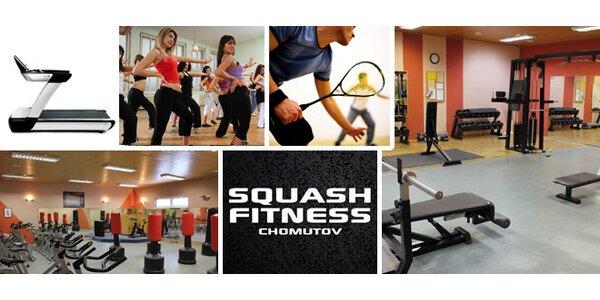 Neomezená permanentka do Squash Fitness Chomutov