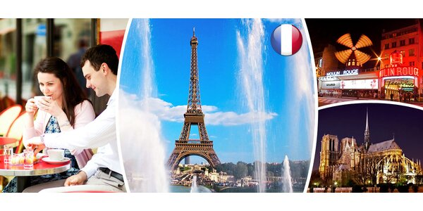 4denní kouzelná Paříž s ubytováním v hotelu