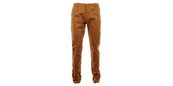 Pánské kalhoty v medové barvě Big Star