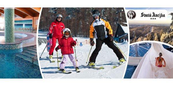 Lipno včetně aquaparku + možnost lyží v Rakousku