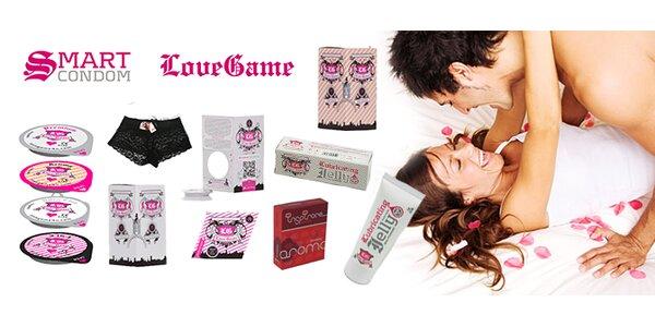 Balíčky kondomů značky Love Game - včetně poštovného