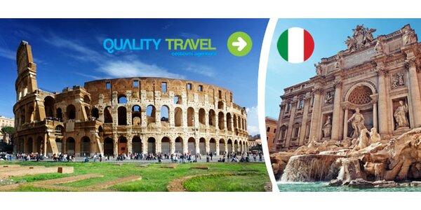Zájezd do Říma a Florencie s ubytováním a snídaní
