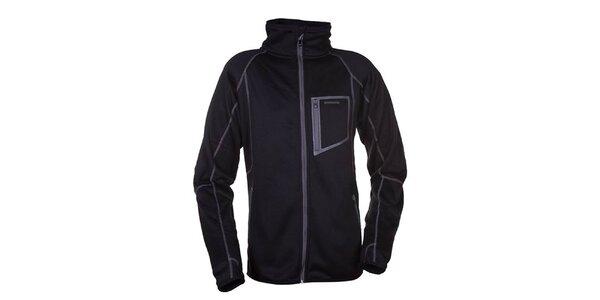 Pánská černá fleecová bunda Envy