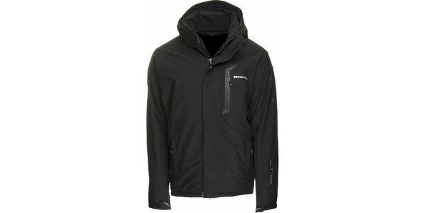 Pánská černá lyžařská bunda Envy