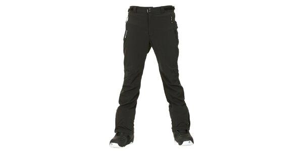 Pánské černé softshellové zimní kalhoty Envy