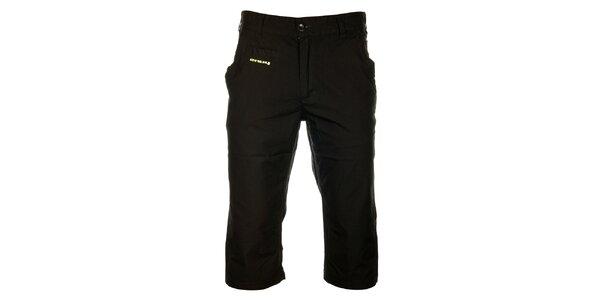 Pánské černé sportovní 3/4 kalhoty Envy