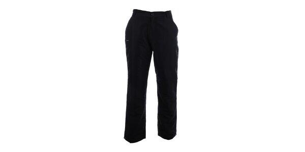 Pánské černé zateplené kalhoty Envy