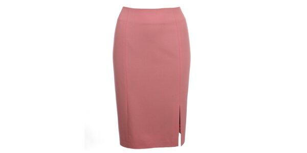 Dámská růžová sukně do pasu Pietro Filipi