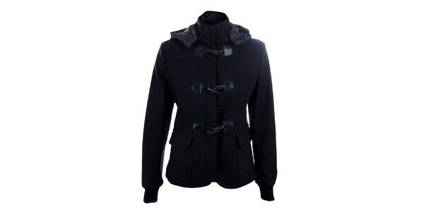 Dámský tmavě modrý vlněný kabátek Phard