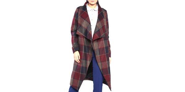 Dámský kostkovaný kabát Vera Ravenna