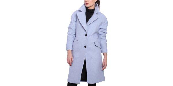 Dámský fialkový oversized kabát Vera Ravenna
