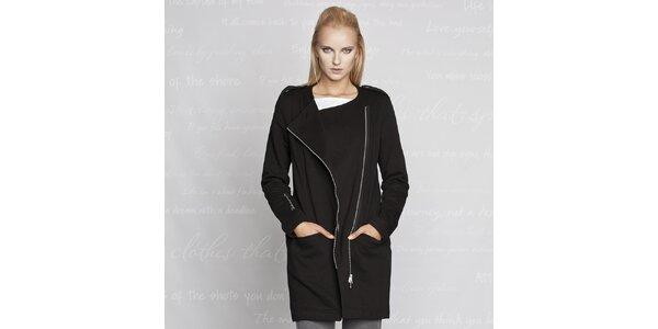 Dámský černý kabátek Paphia
