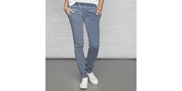 Dámské modré kalhoty Paphia