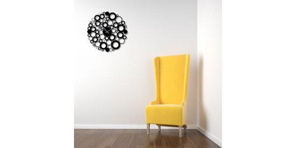 Nalepovací hodiny Bubble
