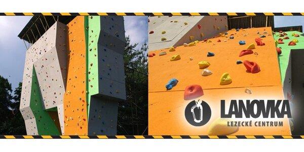 249 Kč za vstup na horolezeckou stěnu pro 2 osoby!