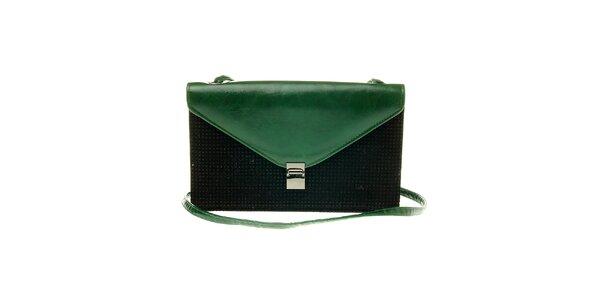 Dámská černo-zelená kabelka Luna Llena