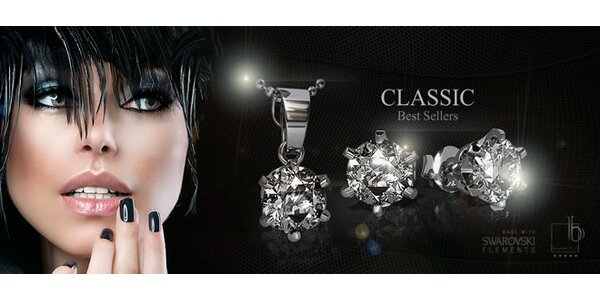 Krásné stříbrné šperky Silvexcraft Design