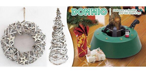 Stojan na vánoční stromeček a další dekorace