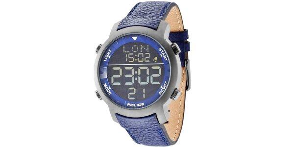 Unisex hodinky Police CYBER modrý řemínek
