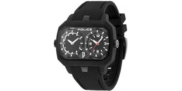 Pánské hodinky Police HYDRA černé ciferníky, černý řemínek