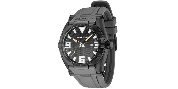 Pánské hodinky Police RAPTOR šedý řemínek