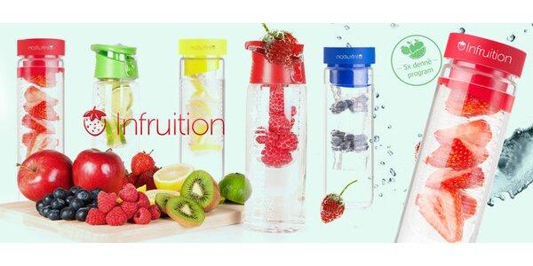 Unikátní lahve Infruition™ (600 ml) – pijte s chutí!