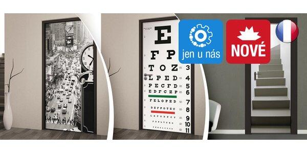 Stylové fototapety na dveře či stěnu francouzské výroby