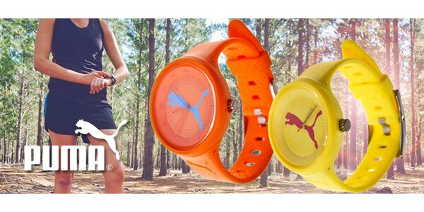 Sportovní hodinky Puma pro ženy i muže