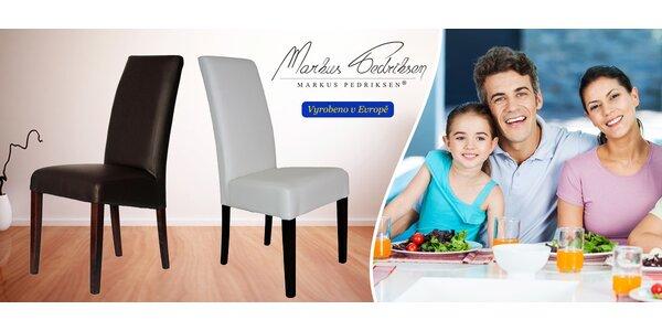 Elegantní židle Markus Pedriksen: 1+1 zdarma