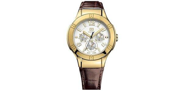 Dámské hodinky s bílým ciferníkem Tommy Hilfiger