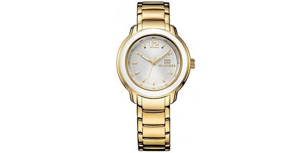 Dámské zlacené hodinky Tommy Hilfiger