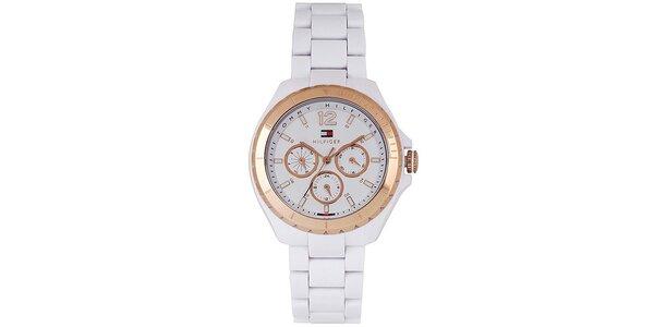 Dámské bílé hodinky Tommy Hilfiger
