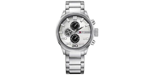 Pánské ocelové hodinky s kulatým ciferníkem Tommy Hilfiger