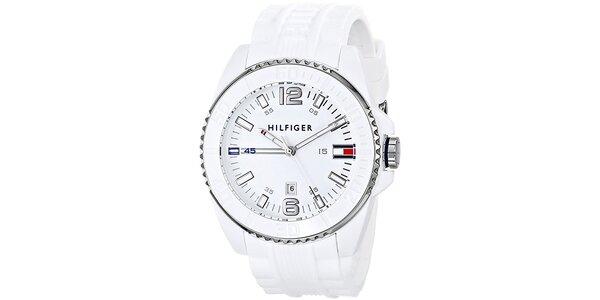 Pánské bílé hodinky Tommy Hilfiger