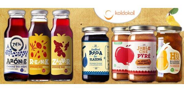 Biolády a biosirupy od rodinné firmy Koldokol
