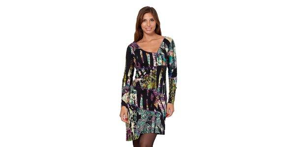 Dámské vzorované šaty Janis