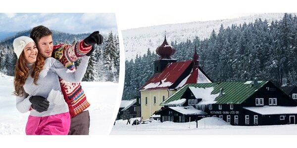 Zimní prodloužený víkend v Malé Úpě v Krkonoších