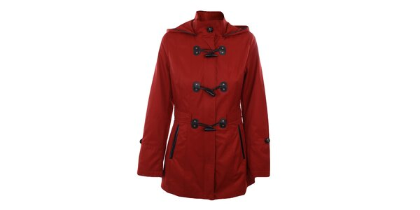 Dámský červený krátký kabátek Halifax