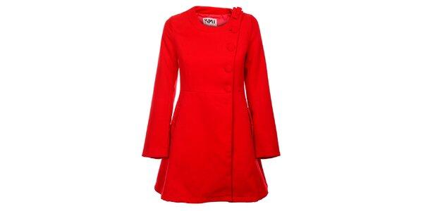 Dámský červený kabátek Yumi