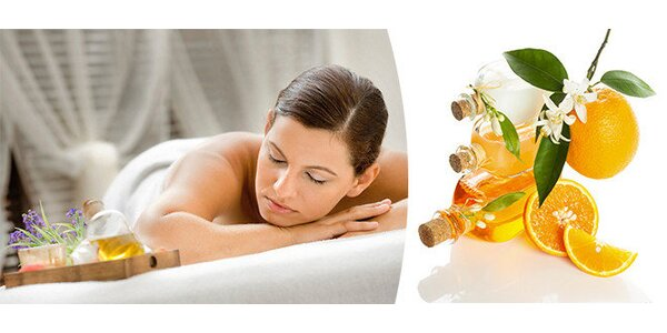 Hladivá aroma masáž - 40 minut