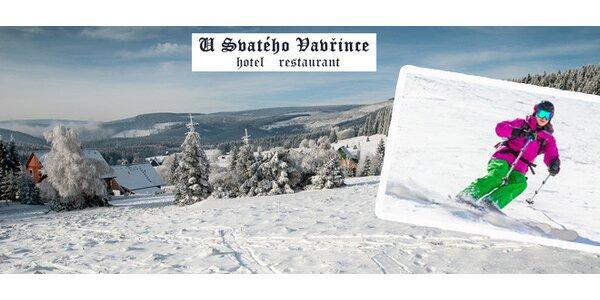 Zimní dovolená v Krkonoších pro dva na 3 nebo 6 dní
