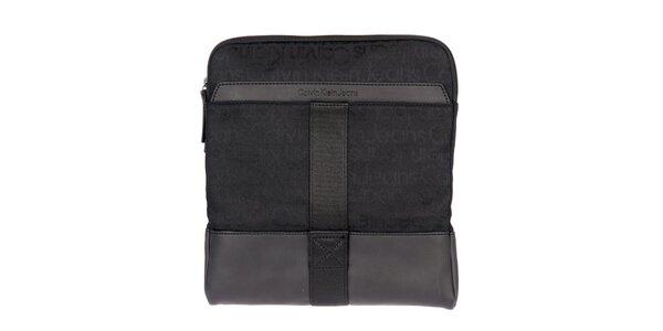 Pánská černá látková taška Calvin Klein Jeans