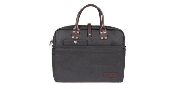 Pánská černá taška na laptop Calvin Klein