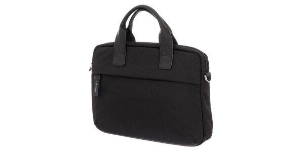 Pánská černá textilní kabela na laptop Calvin Klein