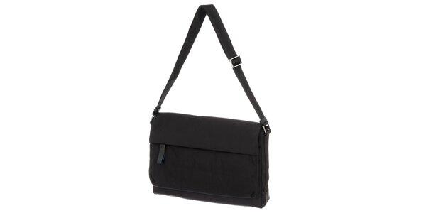 Pánská černá látková taška přes rameno Calvin Klein