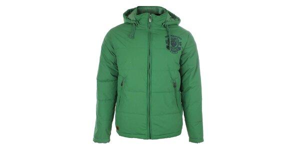 Pánská zelená zimní bunda Timeout