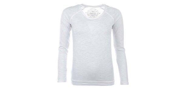 Dámské sněhově bílé tričko Timeout
