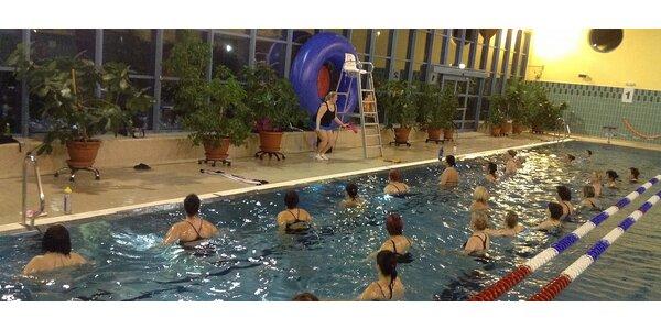 Aqua Zumba® party s wellness po cvičení v Aquacentru BOSPOR v Bohumíně