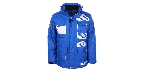Pánská modrá bunda na lyže E2ko